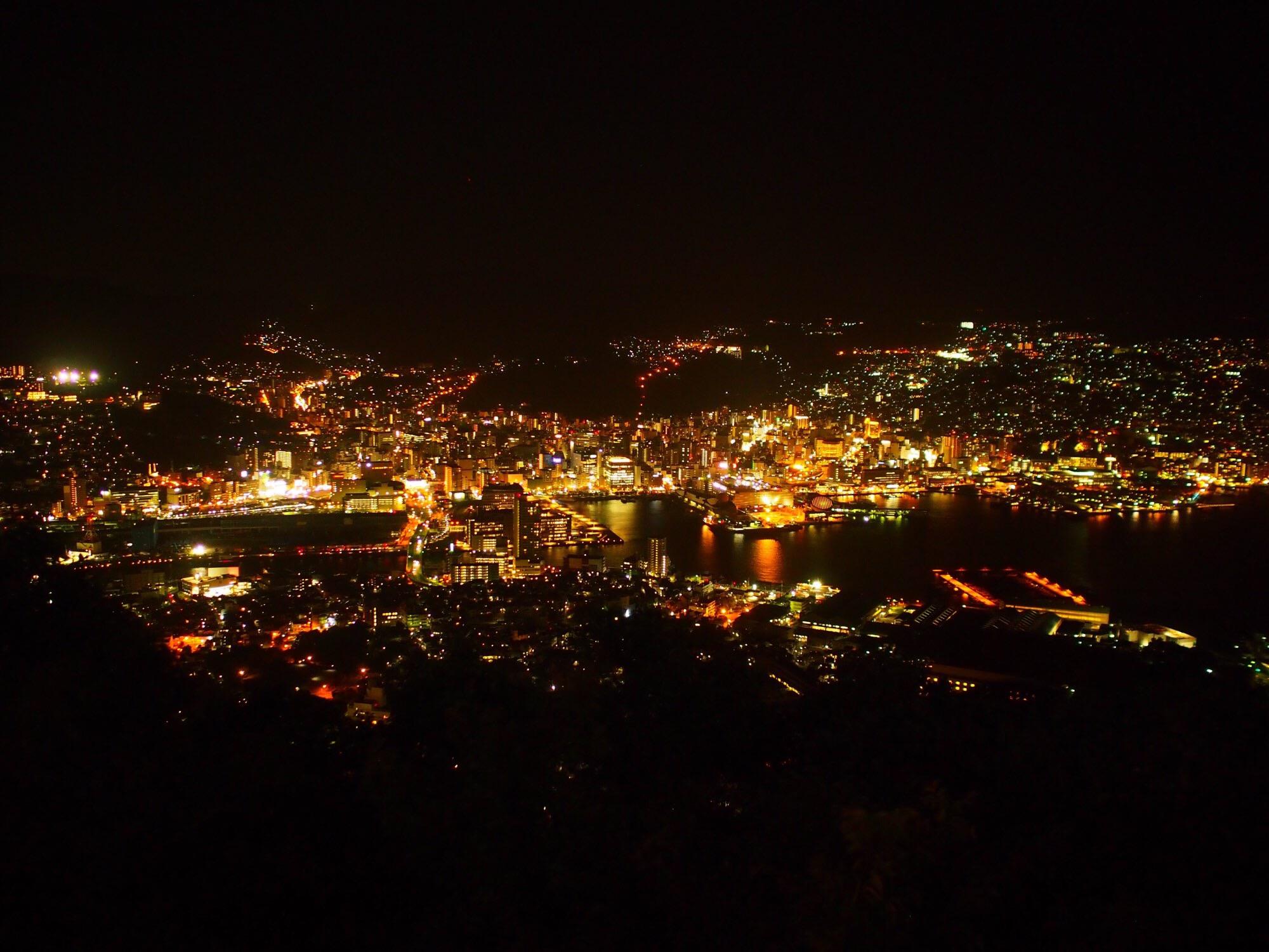 長崎で人気の夜景スポット 稲佐山