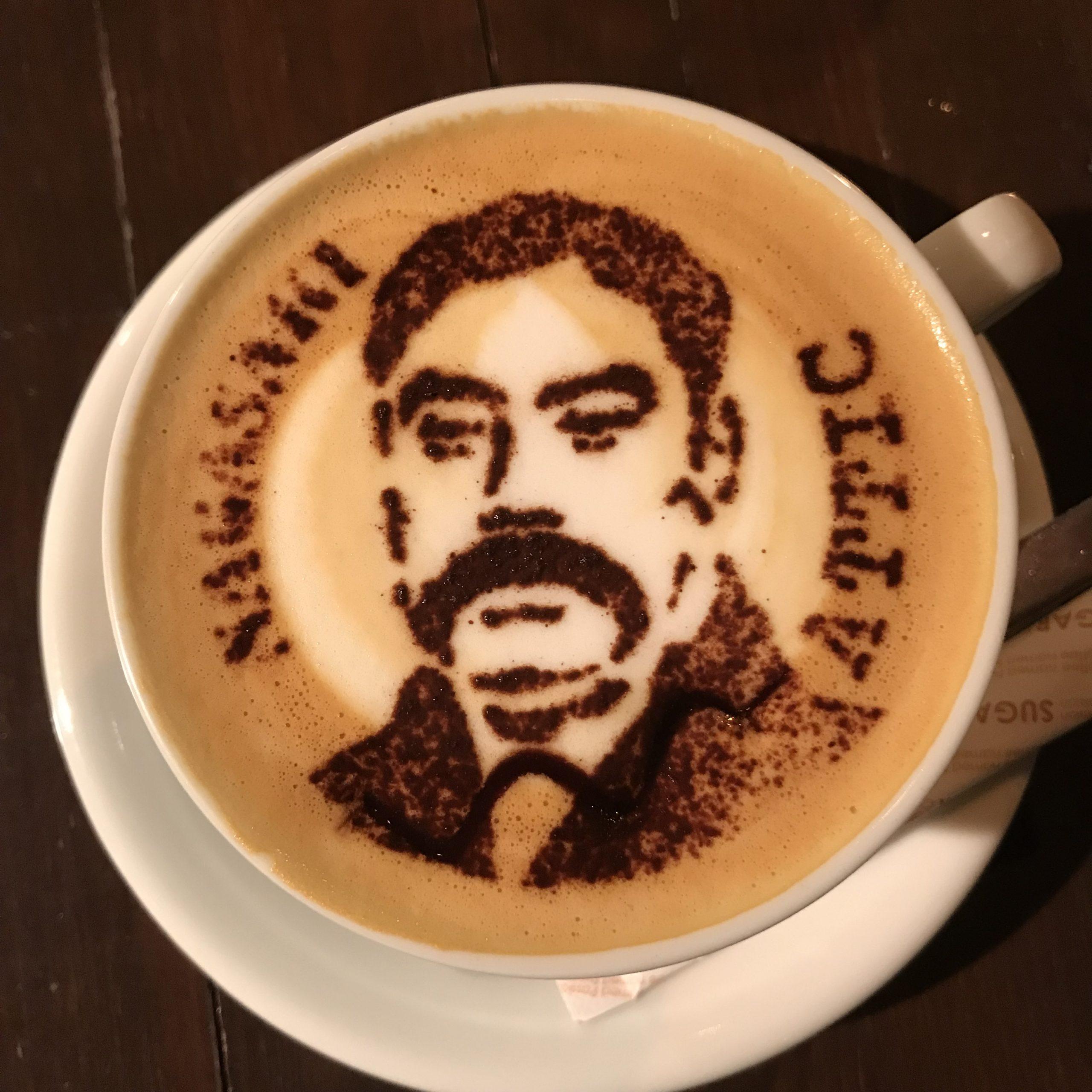 長崎のカフェ長崎出島のカフェ『Attic(アティック)』のラテアート