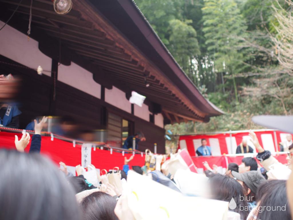 菅薬師堂の節分会・豆まき