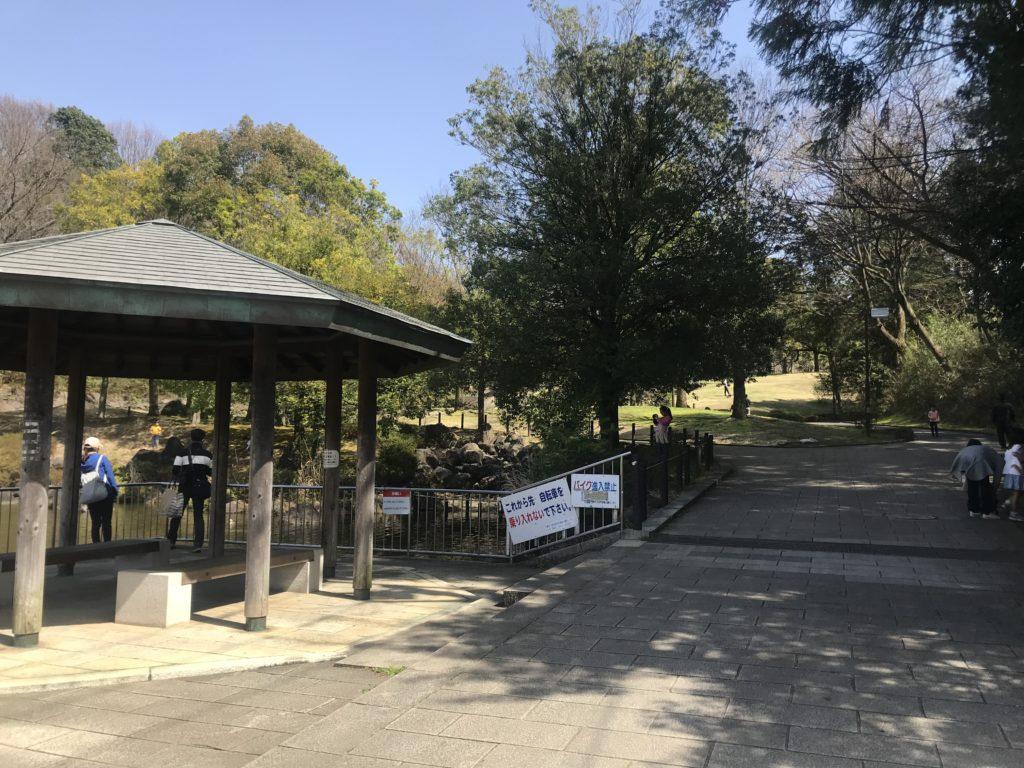 王禅寺ふるさと公園 入口