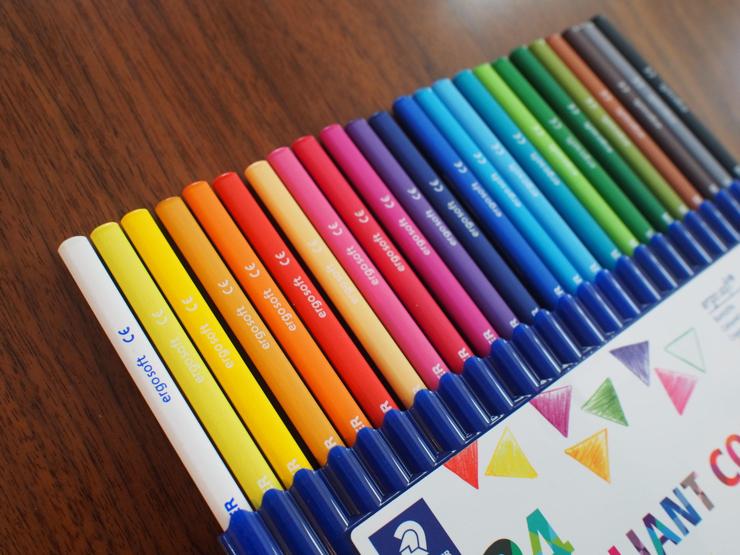 ステッドラー エルゴソフト アクェレル 水彩色鉛筆