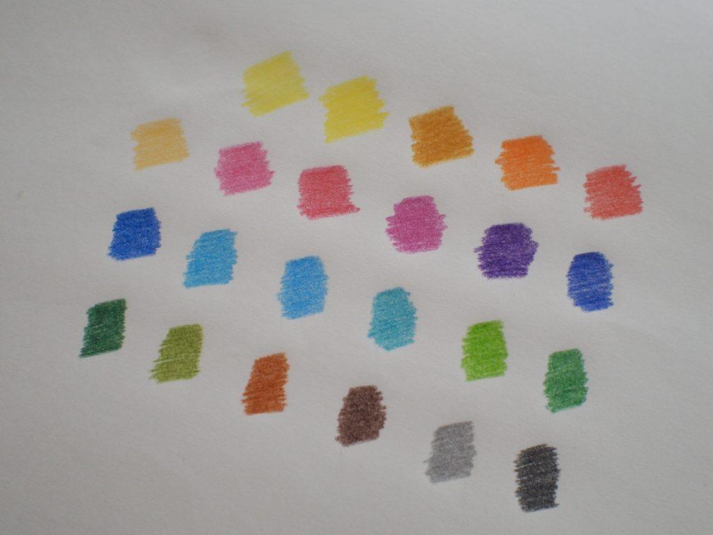 発色がきれいな色鉛筆