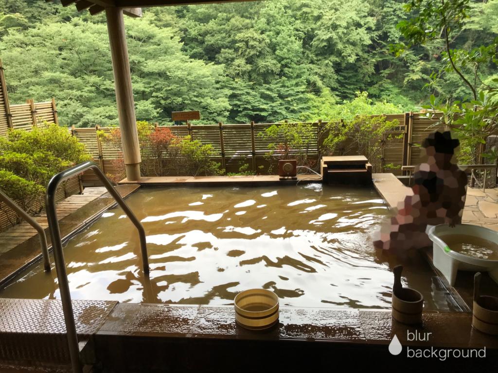 黄金の湯 露天風呂
