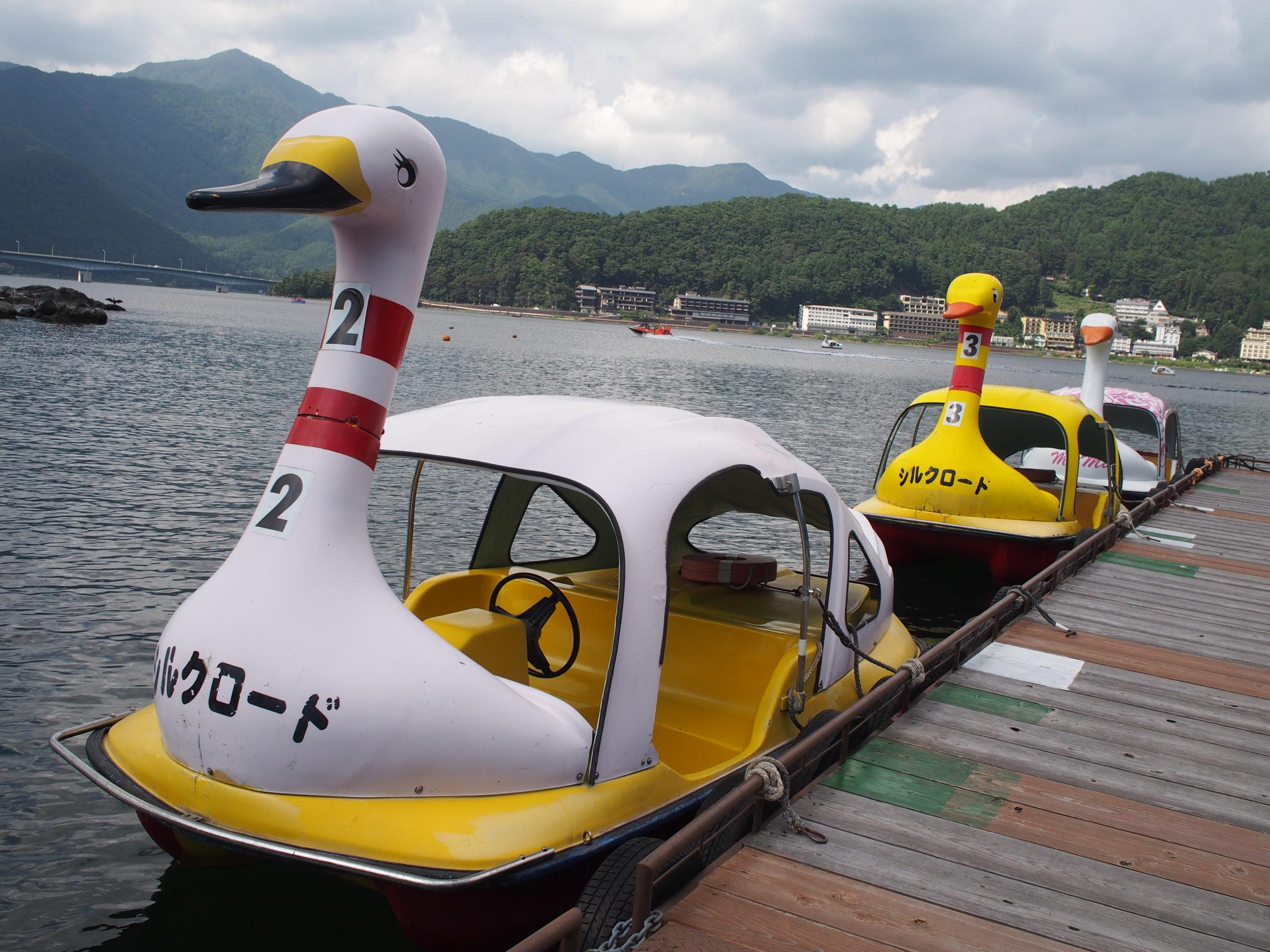 スワンボート(アヒルボート)