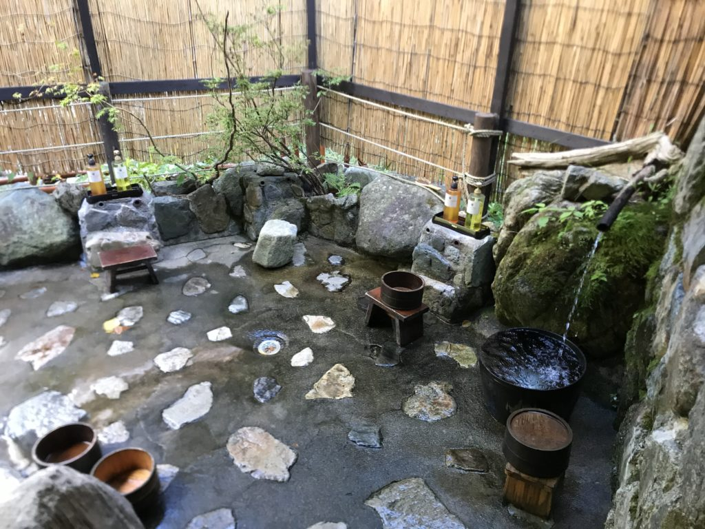 名剣温泉 洗い場