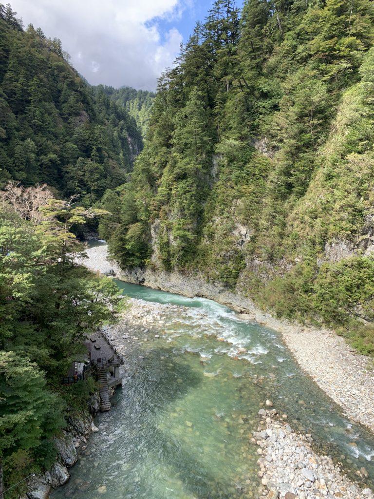 奥鐘橋からの景色