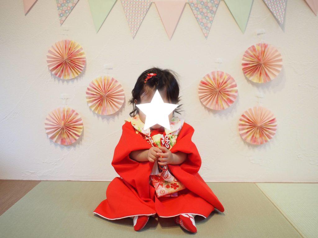 1歳・赤ちゃんの着物レンタル