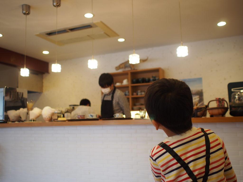 二三味珈琲cafe 店内