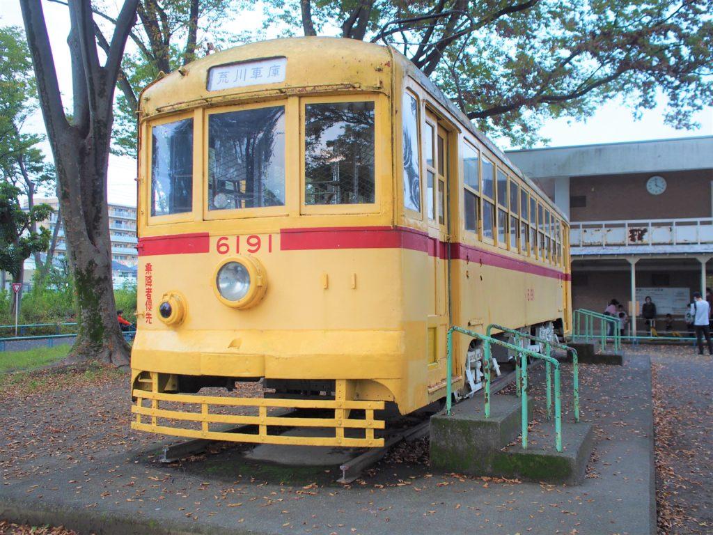 電車(都電6000型)