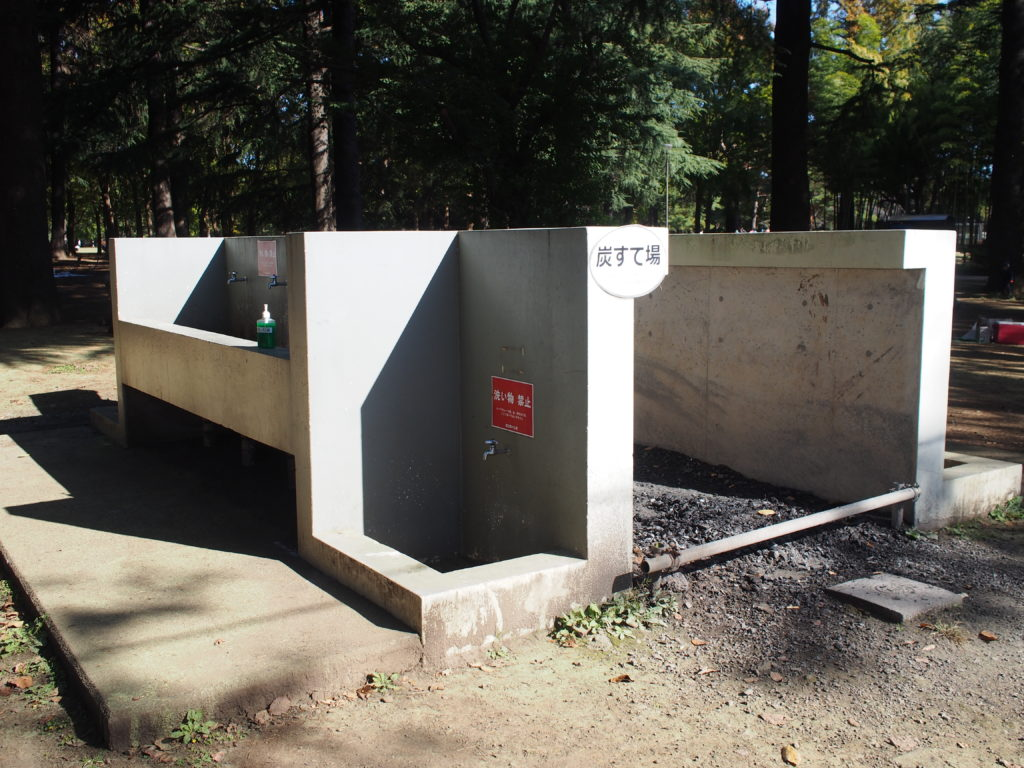 水道、炭捨て場