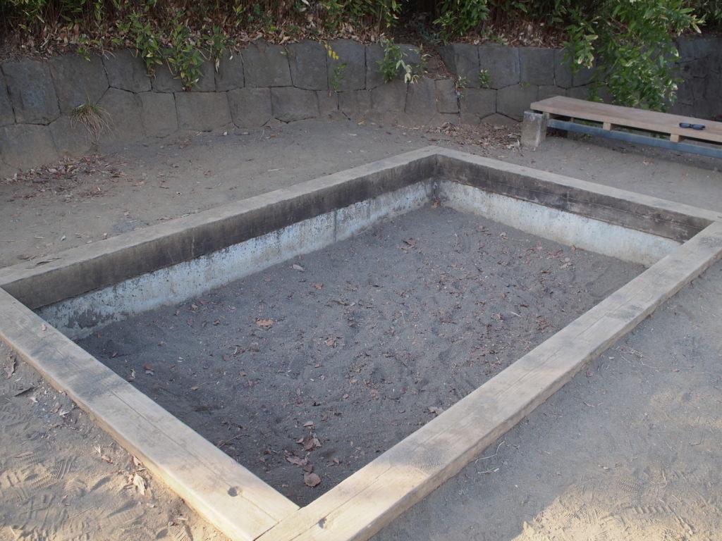 小さい砂場